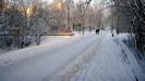 Jak k nám pěšky v zimě