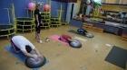 Poprvé v tělocvičně