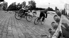 Trénink BMX v Pardubkách